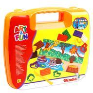 """Simba Набор пластилина """"Art & Fun"""" в чемоданчике, цвет: оранжевый"""