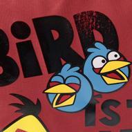 """Сумка спортивная """"Angry Birds"""", цвет: красный"""