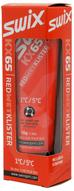 """Клистер Swix """"KX65 Red"""", со скребком, цвет: красный, 55 г"""