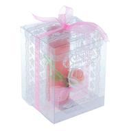 """Свеча Sima-land """"Цветок"""", цвет: розовый, высота 10,5 см"""