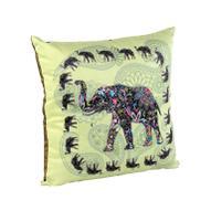 """Подушка декоративная Gift'n'Home """"Слон"""", цвет: фисташковый, 35 см х 35 см"""