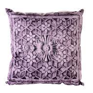 "Подушка декоративная Gift'n'Home ""Узоры Бали"", цвет: фиолетовый, 35 х 35 см"