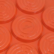 """Сковорода для оладий Walmer """"Смайлики"""", с антипригарным покрытием, цвет: оранжевый. Диаметр 26 см"""