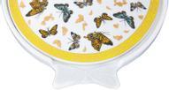 """Блюдо для запекания Elan Gallery """"Бабочки"""", с крышкой, 600 мл"""