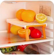 """Подставка для микроволновой печи Ругес """"Плюстарелка"""", цвет: оранжевый, белый"""