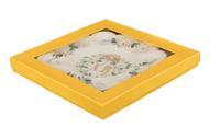 """Тарелка для фаршированных яиц Elan Gallery """"ХВ. Белый шиповник"""", диаметр 24 см"""