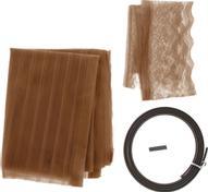 """Сетка антимоскитная """"Полоска"""", на магнитной ленте, цвет: коричневый, 80 х 210 см"""