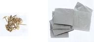 Сетка антимоскитная, на магнитной ленте, цвет: черный, 100 х 210 см
