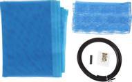 Сетка антимоскитная, на магнитной ленте, цвет: голубой, 80 х 210 см