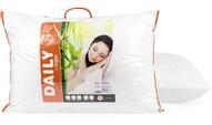 """Подушка Daily by Togas """"Бамбук"""", наполнитель: полиэфирное волокно, цвет: белый, 50 х 70 см"""