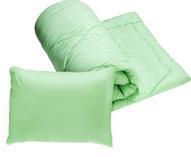"""Комплект 1,5-спальный Эко """"2 в 1"""": одеяло, подушка, 50х70 см"""