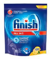 Finish All in 1 Блеск и Защита, Лимон, 65 таблеток