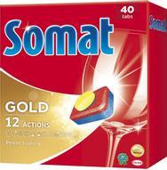 """Таблетки для посудомоечной машины Somat """"Gold"""", 40 шт"""