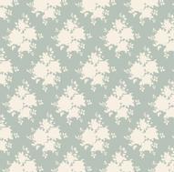 "Ткань ""Tilda"", цвет: серо-голубой, белый, 1 х 1,1 м. 210481655"