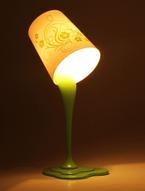 """Светильник """"Зеленая чашка"""", высота 38 см. 737101"""