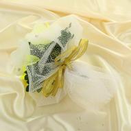 """Букет-дублер """"Sima-land"""", цвет: белый, желтый. 1135084"""
