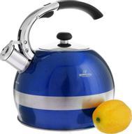"""Чайник """"Bohmann"""", со свистком, цвет: синий, 2,7 л"""