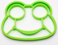 """Форма для яичницы Ruges """"Квакуша"""", цвет: зеленый, 14 х 11 х 1 см"""