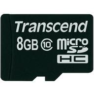 Transcend microSDHC Class 10 8GB карта памяти (TS8GUSDC10)