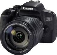 Canon EOS 800D Kit 18-200 IS, Black цифровая зеркальная фотокамера