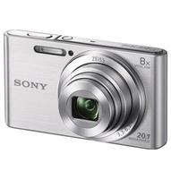 Sony Cyber-shot DSC-W830, Silver цифровой фотоаппарат