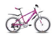 """Детский велосипед Welt """"Edelweiss 20"""""""", цвет: пурпурный, фиолетовый"""