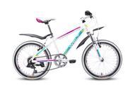 """Детский велосипед Welt """"Edelweiss 20"""""""", цвет: белый, пурпурный"""