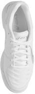 Кроссовки для тенниса женские Asics Gel-Game 6, цвет: белый, серебристый. E755Y-0193. Размер 6H (36)