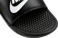 Шлепанцы мужские Nike Benassi Just Do It, цвет: черный. 343880-090. Размер 13 (47,5)