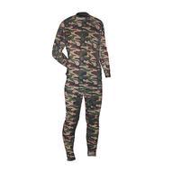 Термобелье мужское Norfin Thermo Line Camo: футболка с длинным рукавом, брюки, цвет: камуфляжный. 300820. Размер XXL (60/62)