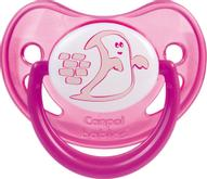 Canpol Babies Пустышка силиконовая Night Dreams от 0 до 6 месяцев цвет красный