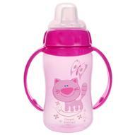 Canpol Babies Поильник с силиконовым носиком от 6 месяцев цвет розовый 320 мл