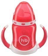 Happy Baby Поильник Ergo Cup от 6 месяцев цвет красный 180 мл