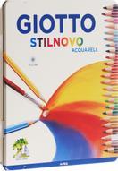 Giotto Набор цветных акварельных карандашей Stilnovo Acquarell 24 шт