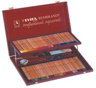 Lyra Художественные цветные карандаши Rembrandt Aquarell 106 цветов