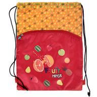 """Сумка для сменной обуви Action! """"Fruit Ninja"""", цвет: красный, оранжевый. FN-ASS4306/2"""
