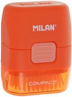 Milan Ластик с щеточкой Compact прямоугольный цвет оранжевый
