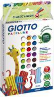 Giotto Пластилин Patplume 18 цветов