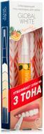 """Global White Отбеливающий гель-карандаш для зубов """"Фруктовый микс"""", 5 мл"""