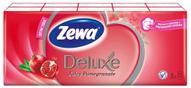 Носовые платки Zewa Deluxe Juicy Pomegranate, 10 х 10 шт