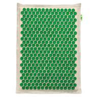 """Массажер-аппликатор """"Тибетский. Комфорт"""" на мягкой подложке, для чувствительной кожи, цвет: зеленый, 41х60 см"""