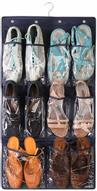 """Органайзер для обуви Ruges """"Слайд-6"""", подвесной, цвет: темно-синий, 85 х 45 х 0,2 см"""
