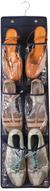 """Органайзер для обуви Ruges """"Слайд-3"""", подвесной, цвет: черный, 85 х 23 х 0,2 см"""