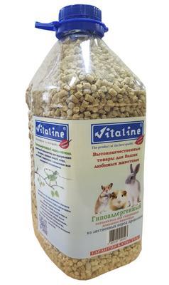 Купить Наполнитель для кошачьего туалета Vitaline, из лиственных пород древесины, 4,5 л в интернет-магазине UUMARKET.RU c доставкой по Улан Удэ. Лучшие цены на  в Улан Удэ.