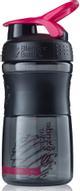 """Шейкер спортивный BlenderBottle """"SportMixer"""", цвет: черный, розовый, фуксия, 591 мл"""