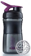 """Шейкер спортивный BlenderBottle """"SportMixer"""", цвет: черный, фиолетовый, 591 мл"""