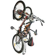 """Подвесная система для 2-х велосипедов """"МастерПроф"""", вертикальное хранение"""