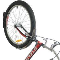 """Подвес велосипедный """"МастерПроф"""", металлический, за колесо, цвет: черный"""