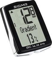 "Велокомпьютер Sigma ""Topline BC 16.16 STS CAD"", 16 функций"