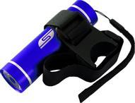 """Фонарь велосипедный Solaris""""T-5V"""", передний, цвет: синий, черный"""